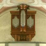 Dettagli organo della Chiesa di SantAnna di Stazzema