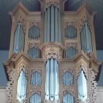 Dettaglio organo della Chiesa Evangelica Luterana